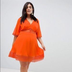 ASOS mini tea dress